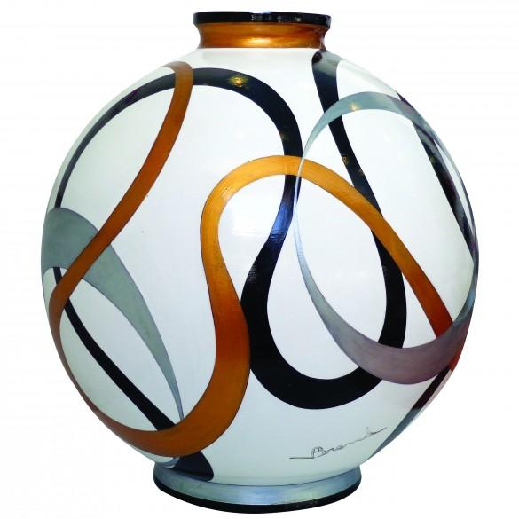 Céramiques vase Mise en orbite
