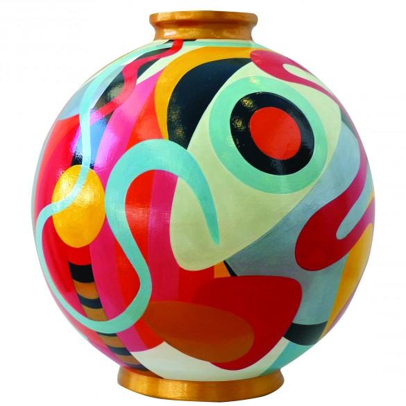 Céramique vase Vie Intérieure