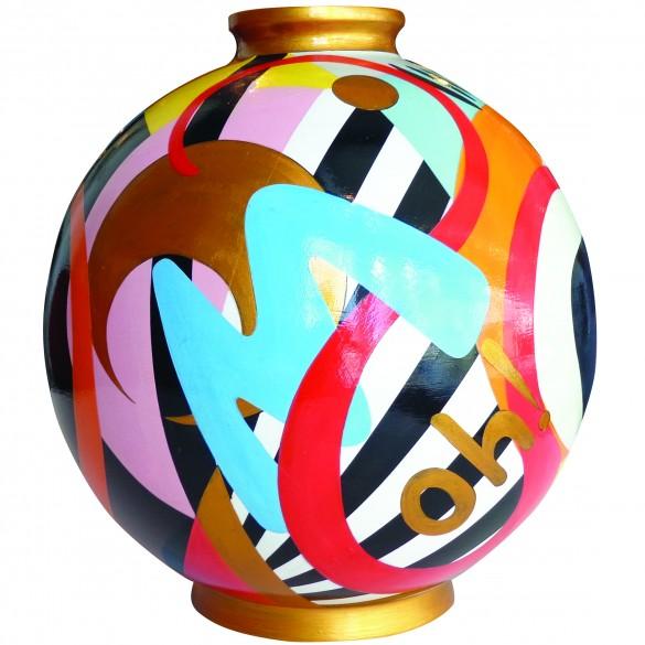 Céramique vase Voyage intérieur