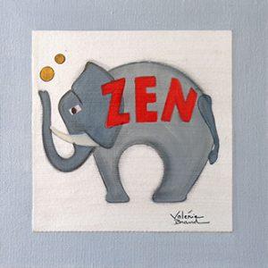 Déco Zoo Elephant Zen 1