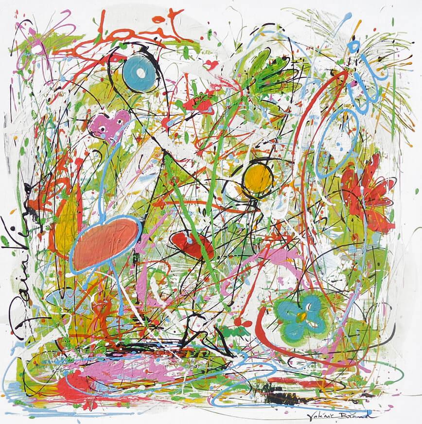 peintre artiste Jardin d'enfance 300