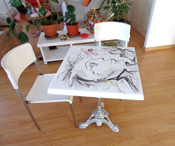 Mobilier design Peinture originale