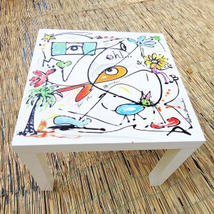 Table Microcosme 180 profil