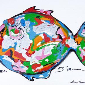 Décoration Peinture originale Tableau 'Yes I am'
