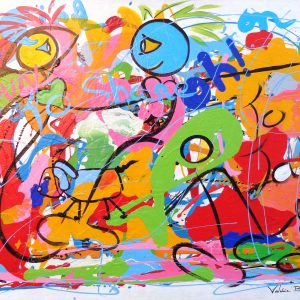 Peinture originale Tableau 'To have fun'
