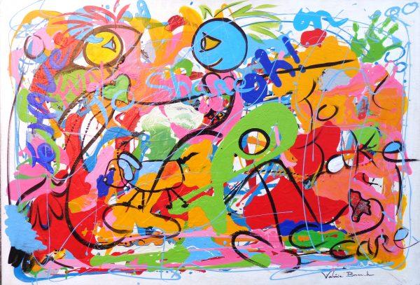 Peinture originale Tableau 'To have fun'