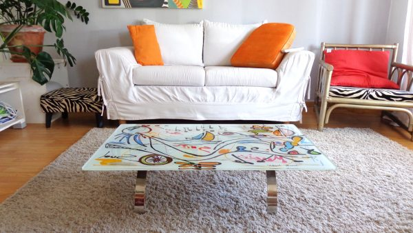 Mobilier design Table basse 'Relax'