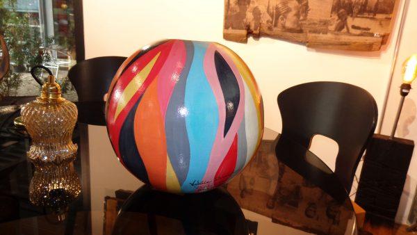 Peinture originale Vase Terre cuite 'Andiamo'