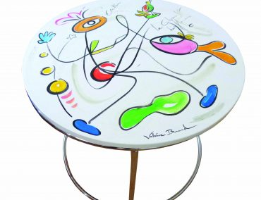 Table basse 'Confidences'