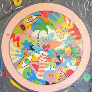 Peinture originale Tableaux 'Hymne à la joie de vivre'