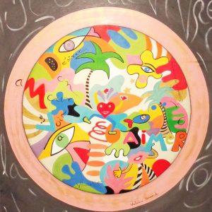 Peinture originale Tableau 'Hymne à la joie de vivre '
