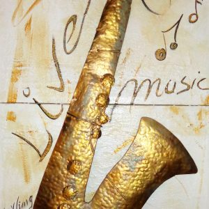 Peinture originale Tableau 'Jazz life'