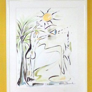 'Sur la terre' Tableau Peinture originale