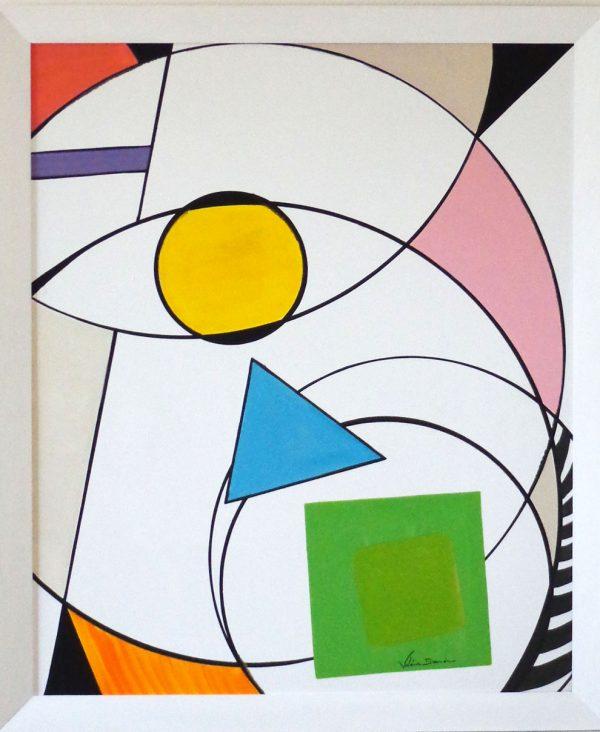 'Electron' Tableau Peinture Originale Design