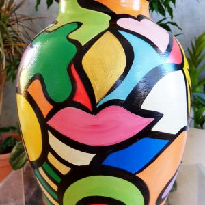 Vase 'Oasis' Art Design Décoration
