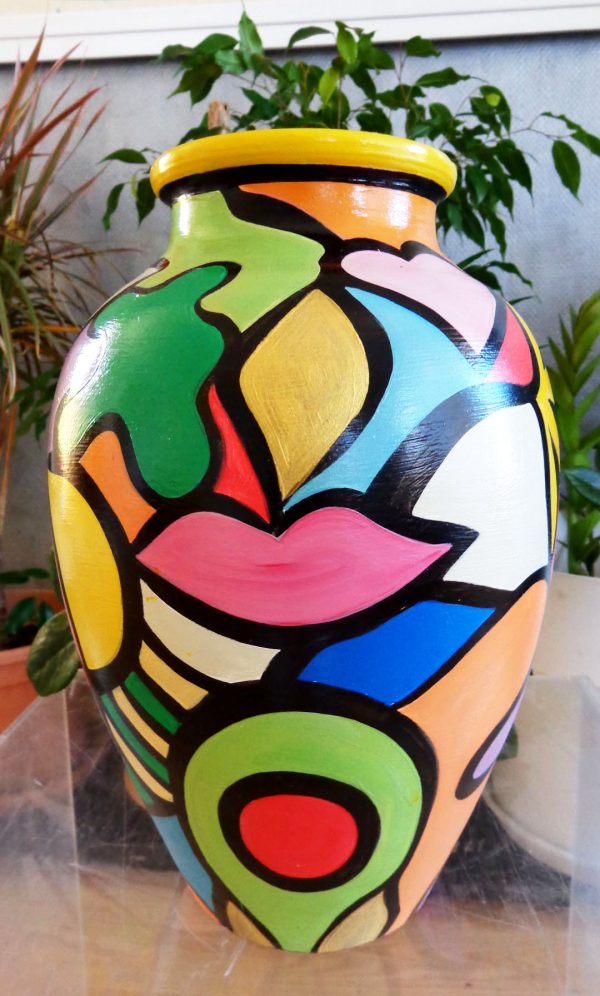 Vase 'Oasis' Art Design Décoration