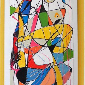 'Amigo' Tableau Design Peinture originale