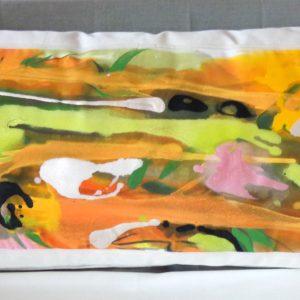 'Venise' Coussins Design textile Tissu peint