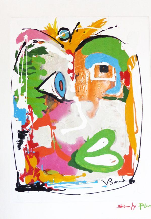 'Eurêka' Tableau Design Peinture contemporaine