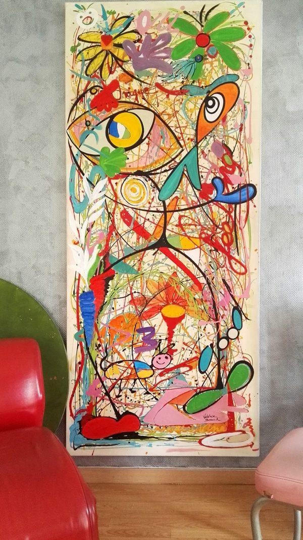 'The new green man' Tableau Design Peinture originale