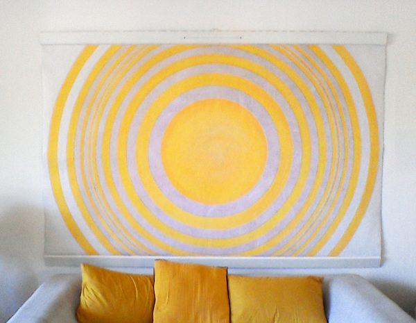 'Soleil toute l'année!' Peinture originale Design Tenture